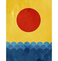 Textured wallpaper vector image vector image