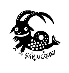 Capricorn vector image