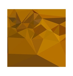 Curry Yellow Abstract Low Polygon Background vector