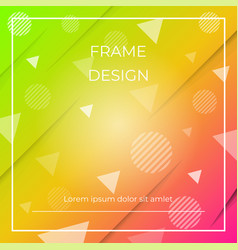 geometric dynamic diagonal colorful background vector image