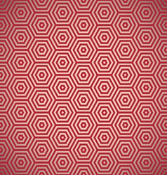 Retro red seamless background vector