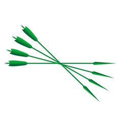 robin hood lincol green arrows vector image