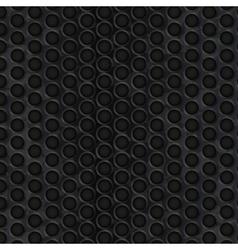 Dark metal texture with copy space vector image