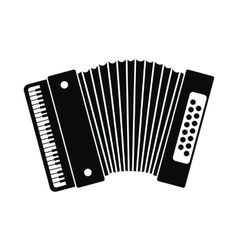 Retro accordion icon vector image vector image