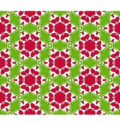 Seamless colorful floral pattern background vector image vector image