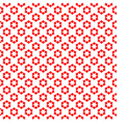 canadian seamless background vector image