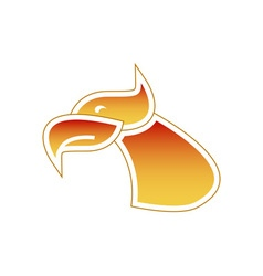 Firebird-Head-380x400 vector image