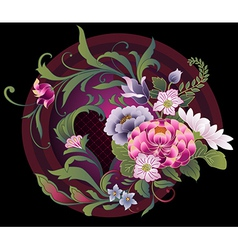 Floral Whorl vector image vector image