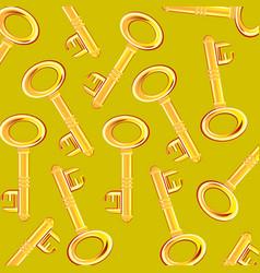 Golden key from lock vector