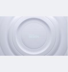 white circular background vector image