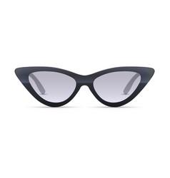 Women eyewear 3d realistic sunglasses vector