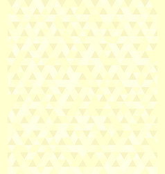Yellow triangle pattern seamless vector