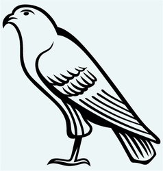 Eagle sketch vector image