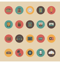 386retro music gadgetVS vector image