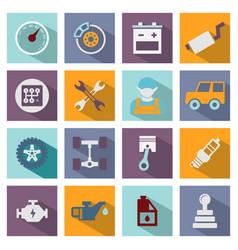 auto service icon vector image
