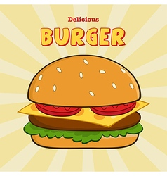 Clip Art Burger Design vector