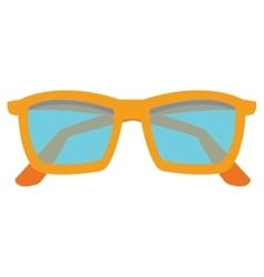 Colorful sunglasses icon vector