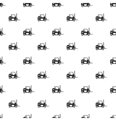 Electric loader pattern simple style vector image