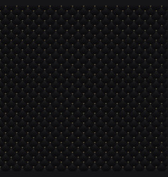 Elegant seamless pattern black circles with gold vector