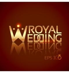 Emblem or logo for wedding studios vector