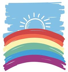 gay abstract backgorund vector image