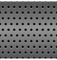 Metal seamless background vector