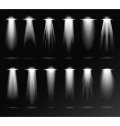 Projection lights sources vector