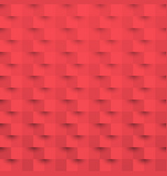 Red 3d paper art style texture background vector