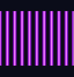 seamless pattern with vertical neon stripes vector image