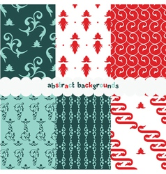 summer vintage pattern vector image