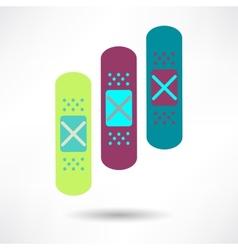 Bandage Health amp Medical Icon vector image vector image