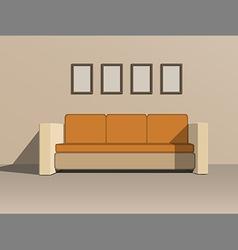 Sofa vector image