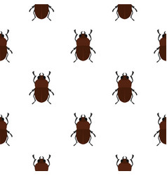 Bug pattern seamless vector