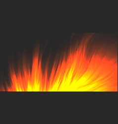 Burning fire blazing flame background vector