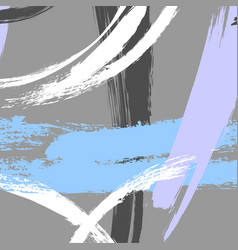 contemporary geometric hand drawn triangle vector image