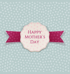 Happy Mothers Day greeting Banner Template vector