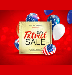 Memorial day sale promotion advertising banner vector