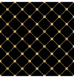 Rhombus seamless pattern black 2 vector