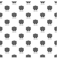 Saloon door pattern seamless vector