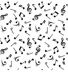 Symbols of music sixteenth eighth quarter and vector