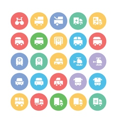 Transport Bold Icons 6 vector