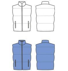 Waistcoat vector