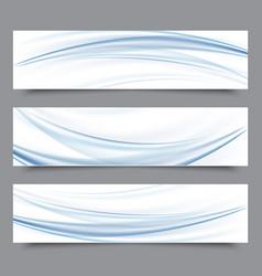 Set of banner templates modern abstract design vector