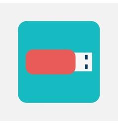 flash drive icon vector image