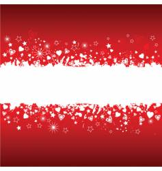 grunge valentines vector image
