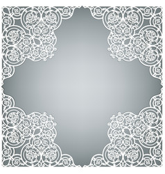 template for invitation vector image