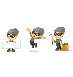 Thief 1 vector image vector image