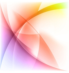 Abstract light colorful background vector image