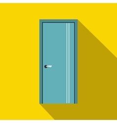 Door icon in flat style vector image