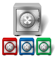 Four color safe vector image